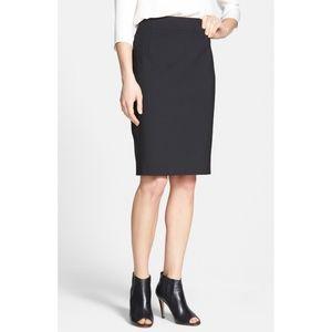 Theory Joanie Stretch Wool Pencil Skirt